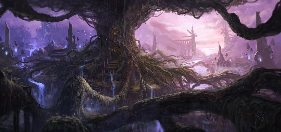 Tree Of Life By Artofjosevega