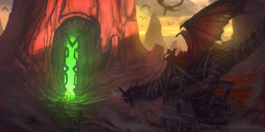 Emerald Gate by artofjosevega