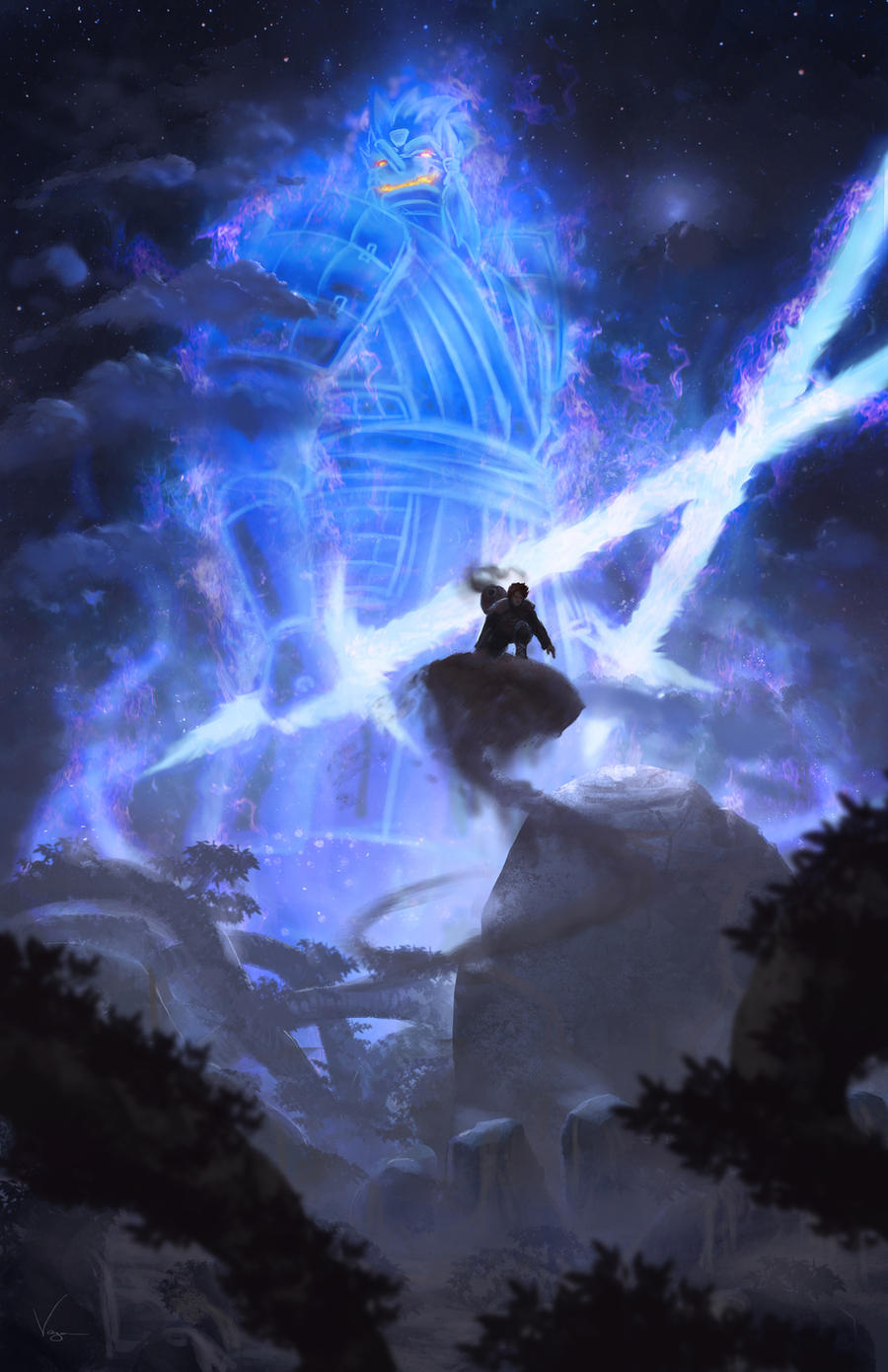 Post your favorite susano'o fanarts