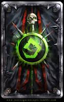 Warlock Theme Cardback by artofjosevega