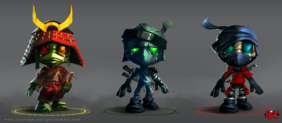 Amumu skin concepts by cheo36
