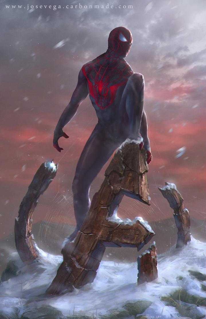 Spiderman by artofjosevega