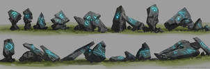 Rock concepts by artofjosevega