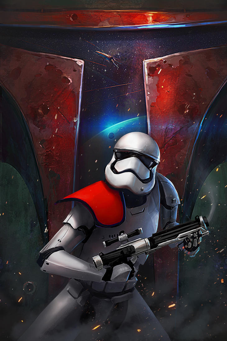 Trooper poster by artofjosevega