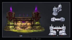Wall / Gate Design concept by artofjosevega