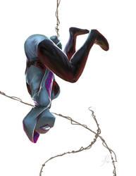 Spider Gwen by artofjosevega