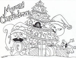 Happy Tree Friend Christmas
