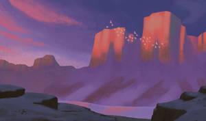 Singing mountains