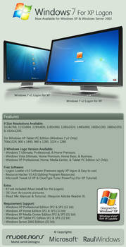 Win 7 Collection for XP Logon