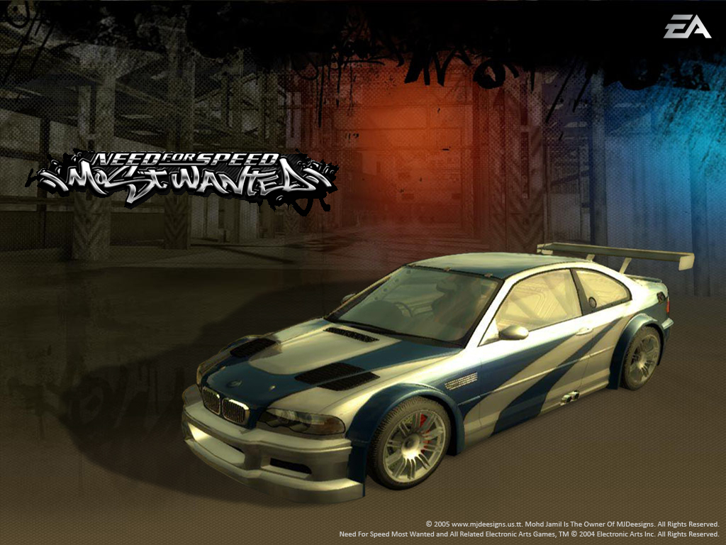 NFS Most Wanted Wallpaper. by mjamil85 on DeviantArt