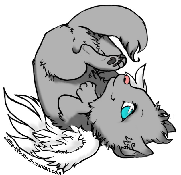Brown anime wolf cub related keywords brown anime wolf for Wolf cub coloring pages