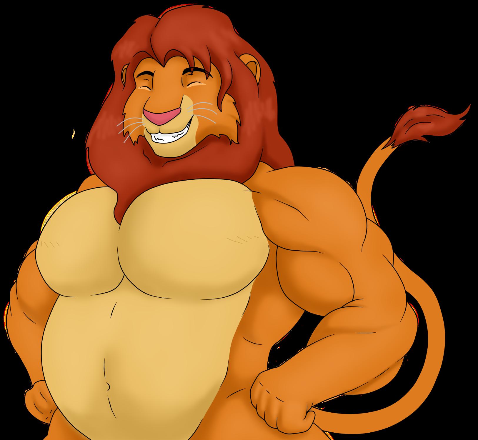 Fat Lion King