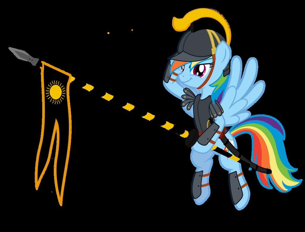 Imperium Solarne Rainbow Dash by ElSadzonka