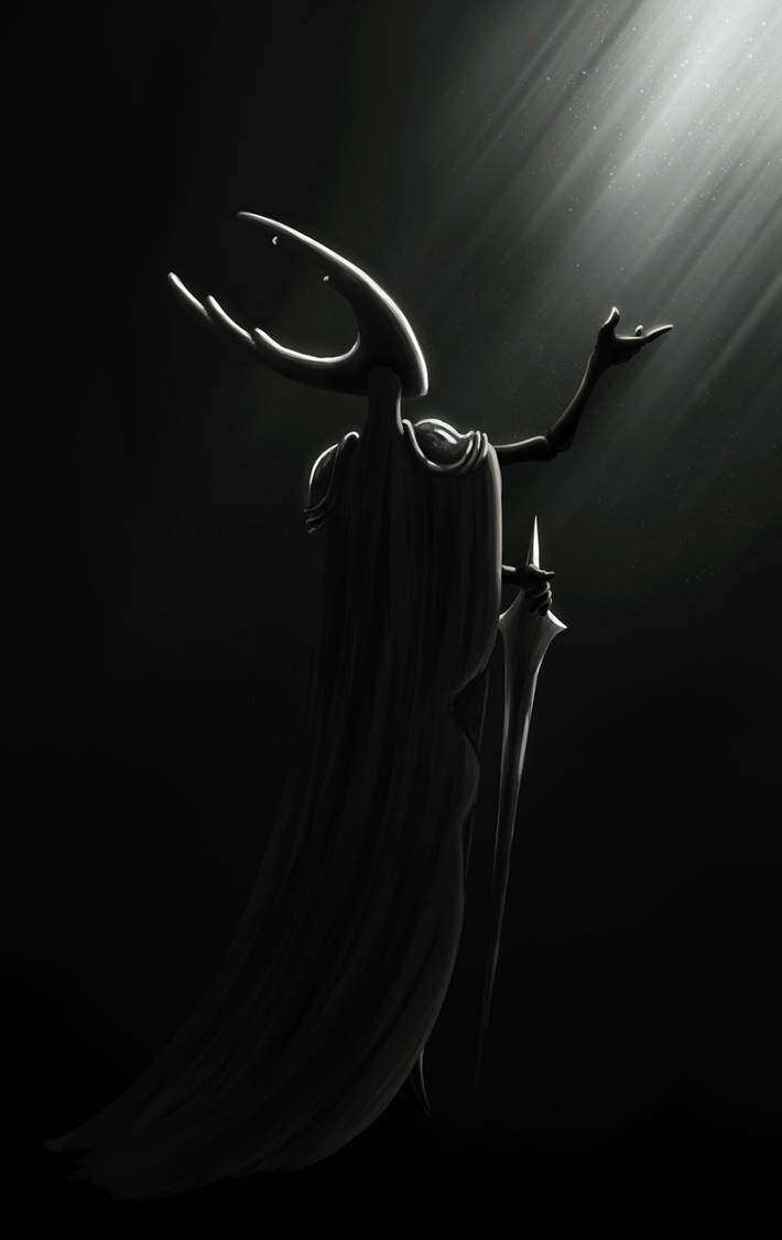 Pale light ~ Hollow Knight by Awlita