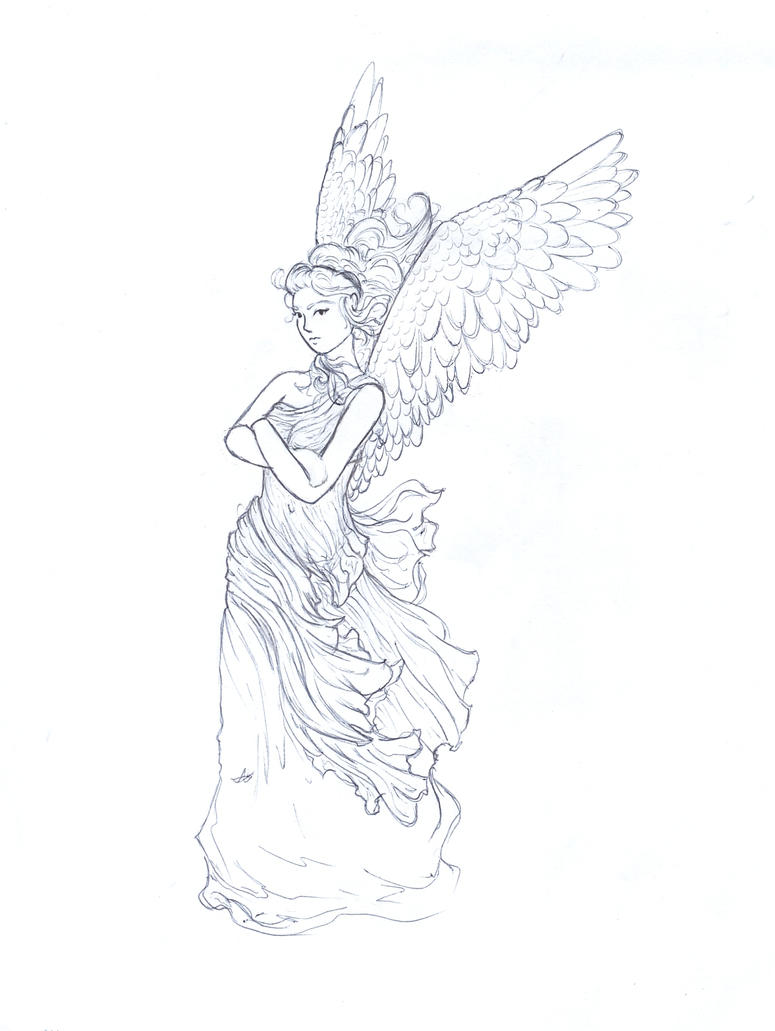 Nike - goddess of victory by Artemis-aka-Diana on DeviantArt
