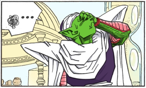 Piccolo is stressed by Artemis-aka-Diana