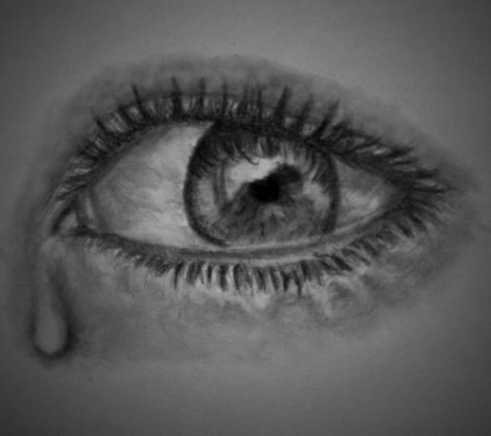 Drawing A Teardrop: Eye, A Little Tear. By Blablablashalala On DeviantArt