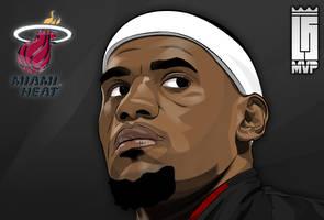 Lebron James! MVP! by Vaughnzz