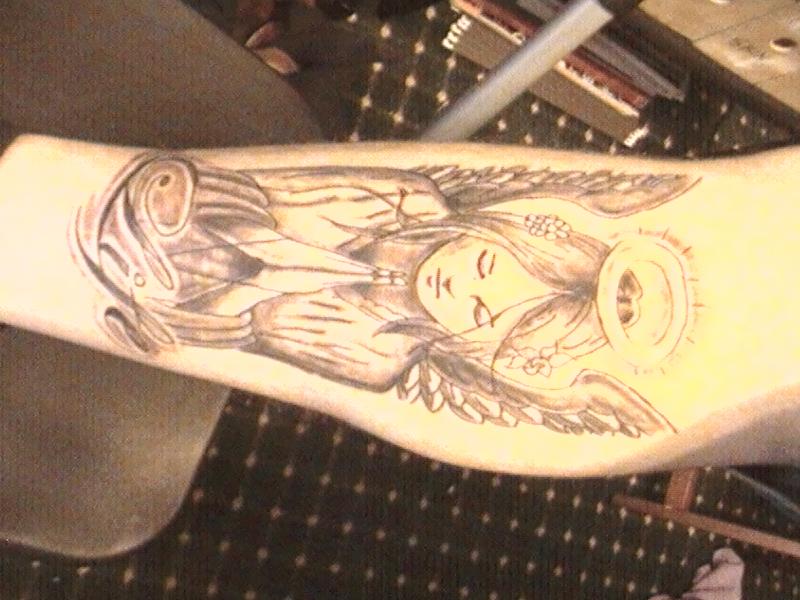 Praying Hands With Wings Tattoo Designs Kneel Praying Angels Tattoos Design
