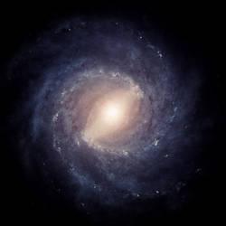 Milky Way Galaxy, Full of Stars 3 (Purple Variant)
