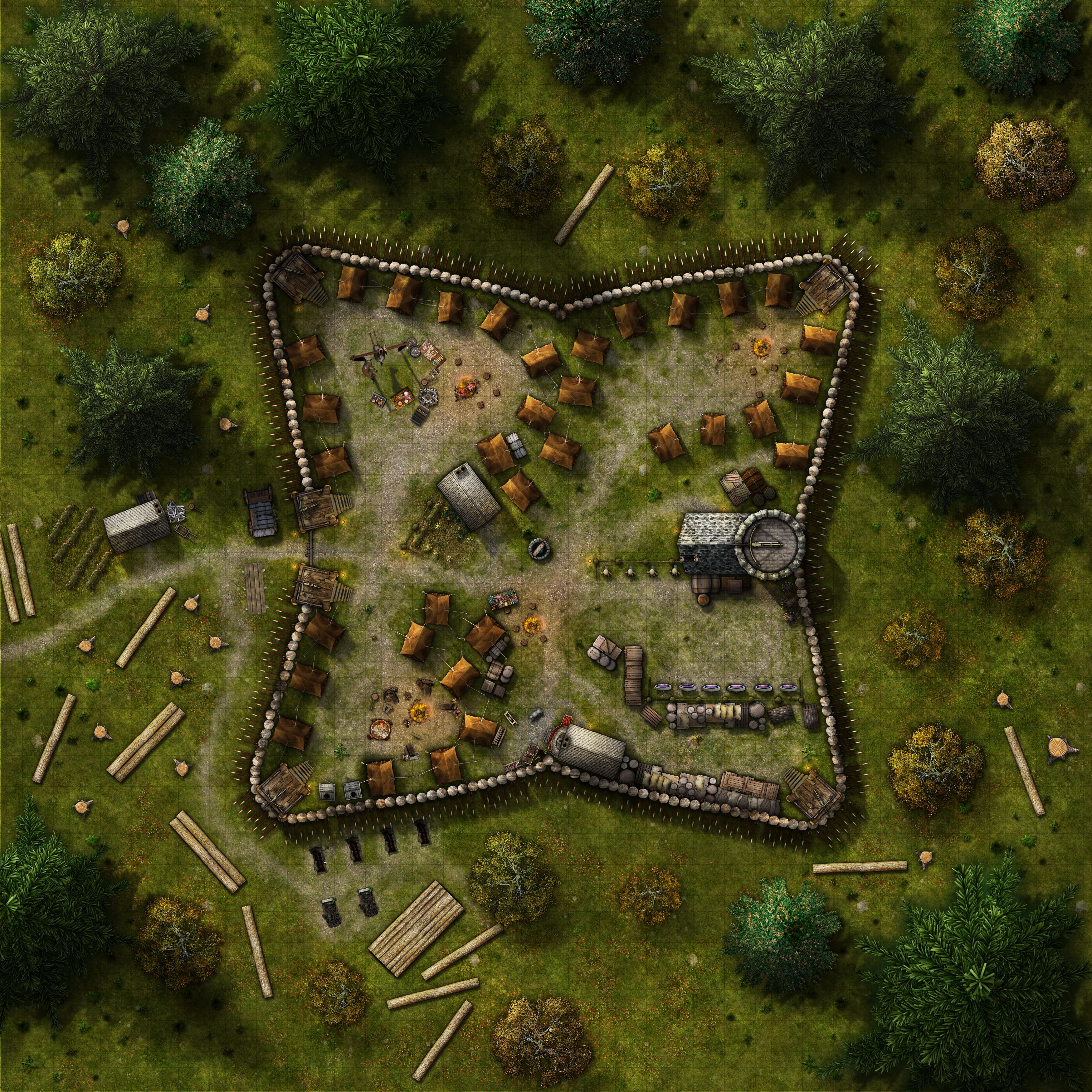 Graveths Fort by eViLe-eAgLe