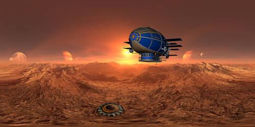 Airship Planets