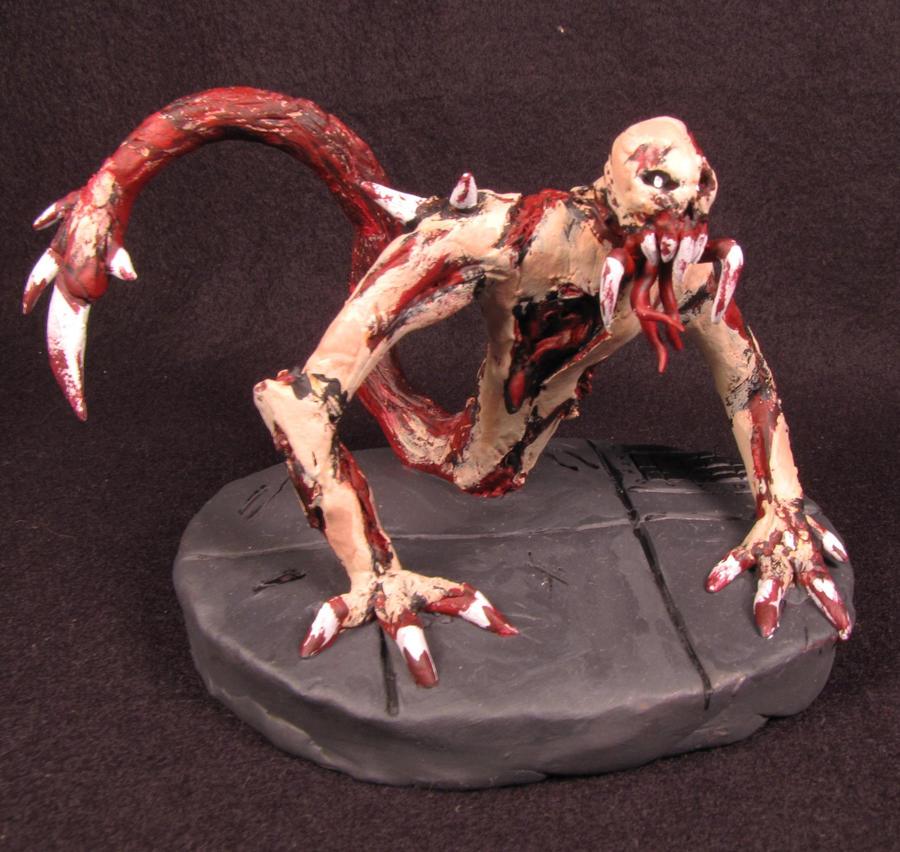 Necromorph Leaper by adavis182