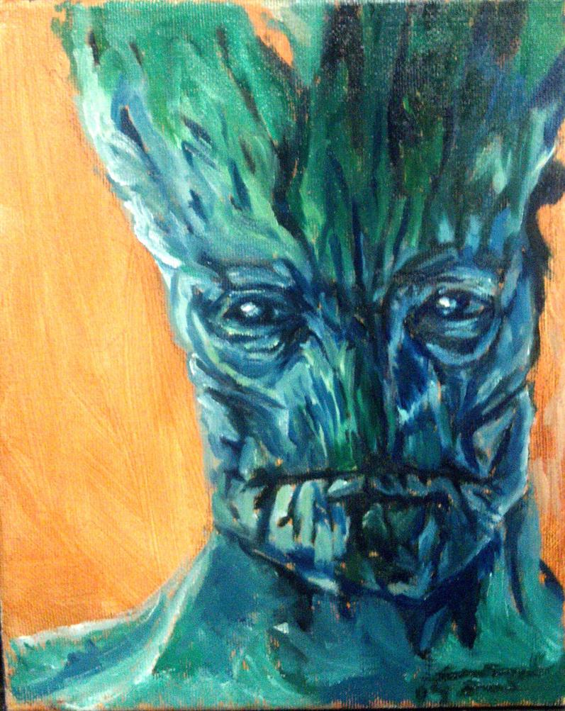 i am Groot by Jarredsart