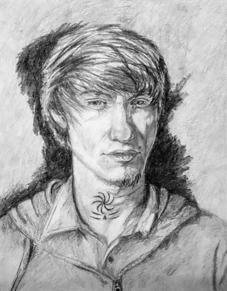 self portrait by Jarredsart