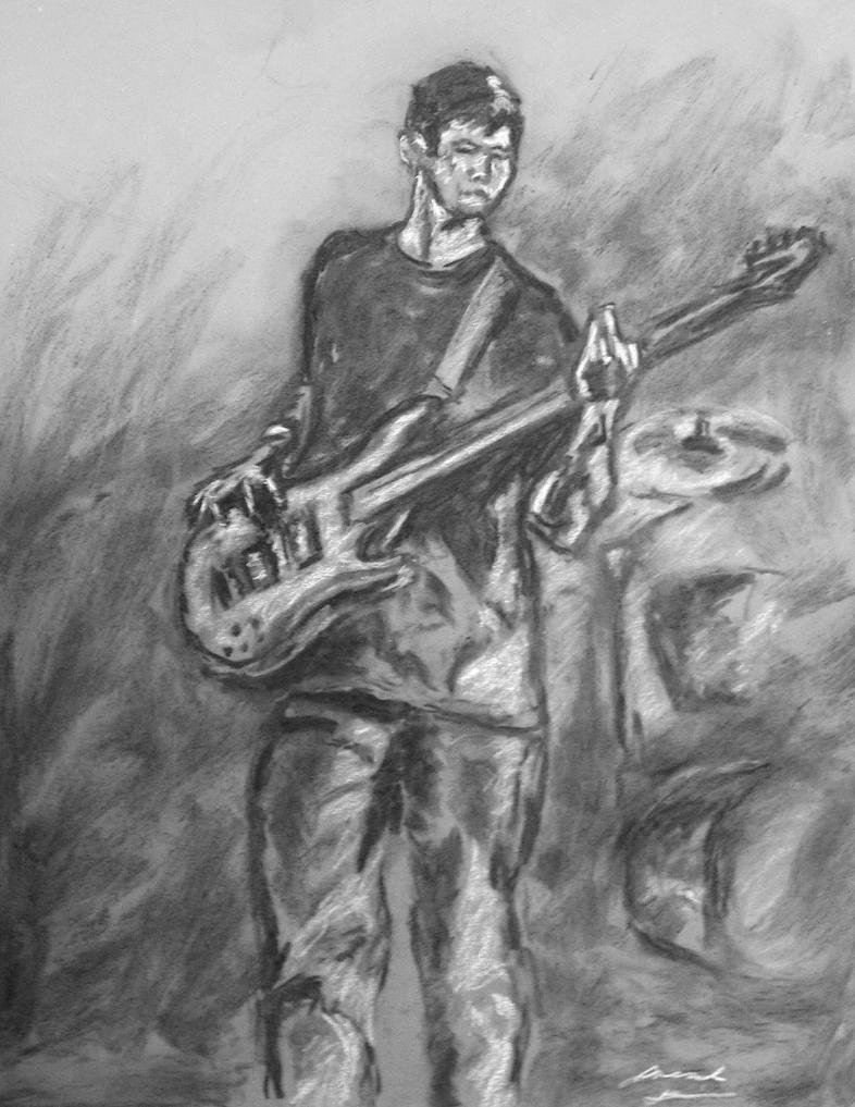 Camrose portrait sketch 1 by Jarredsart