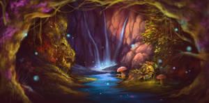Fairy BG by aerobicsalmon