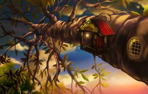 Fairy Abode by aerobicsalmon