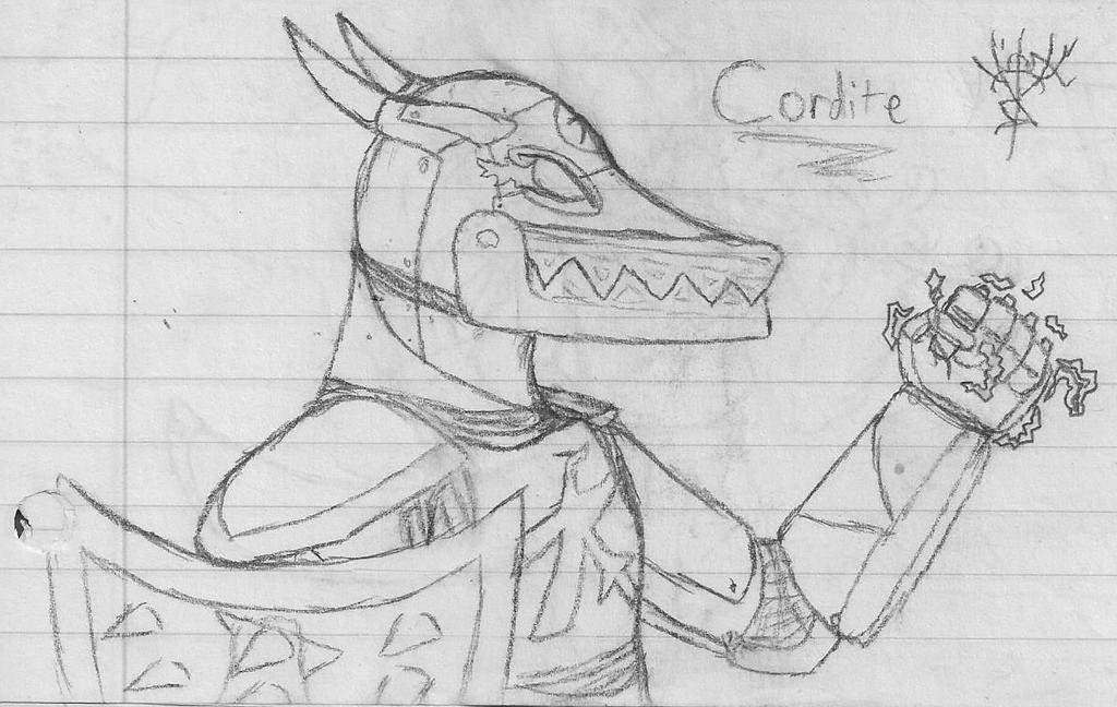 Cordite Sketch by Medicshy