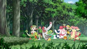 Pokemon Max and Bonnie dream team