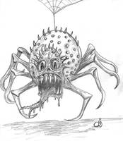 Monster spider by chbj
