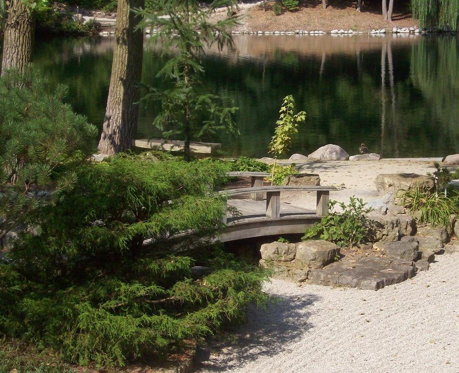 Japanese Rock Garden By Mutedfaerie