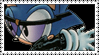 Evil Sonic Stamp by LoveAnimeAndCartoons