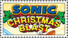 Sonic Christmas Blast Stamp by LoveAnimeAndCartoons
