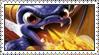 Skylanders!Spyro Stamp by LoveAnimeAndCartoons