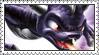 Skylanders!Dark Spyro Stamp by LoveAnimeAndCartoons