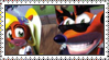 Crash Bandicoot: Warped Stamp by LoveAnimeAndCartoons