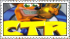 Crash Team Racing Stamp by LoveAnimeAndCartoons