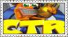 Crash Team Racing Stamp by LoveAnimeAndCartoons