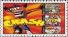 Crash Bandicoot Collector's Edition Stamp