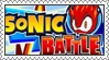 Sonic Battle Stamp by LoveAnimeAndCartoons