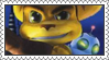 Ratchet and Clank Stamp 1 by LoveAnimeAndCartoons