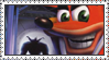 Crash Bandicoot: The Wrath of Cortex Stamp by LoveAnimeAndCartoons