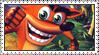 Crash Bandicoot: The Huge Adventure Stamp by LoveAnimeAndCartoons