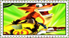Crash Twinsanity Stamp by LoveAnimeAndCartoons