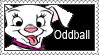 Oddball Stamp by LoveAnimeAndCartoons